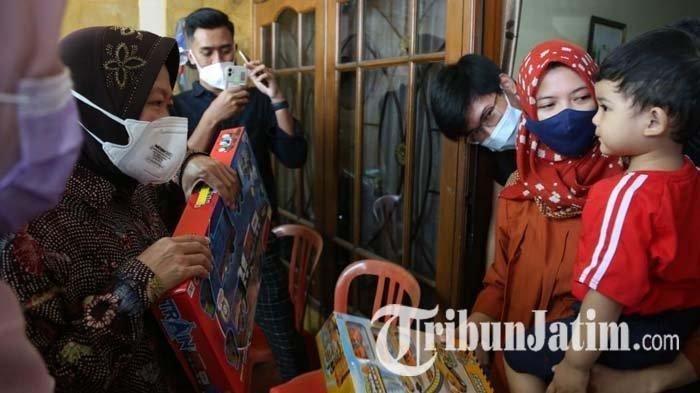 Video Kunci Ayah di Kamar Viral, Putra Awak KRI Nanggala 402 Dikunjungi Risma, UYM Janjikan Beasiswa