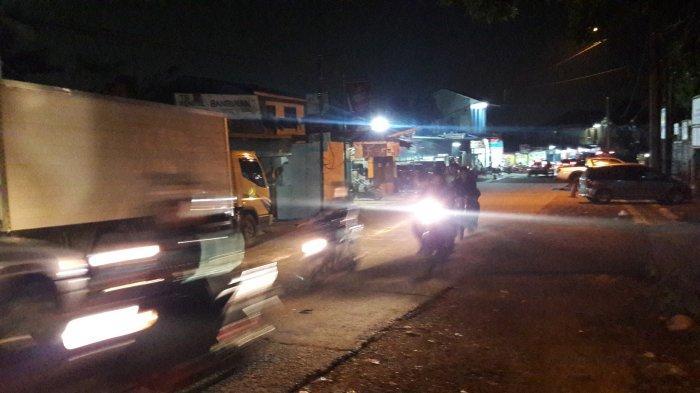 Lalu Lintas Di Jalan MH Tamrin Babakan Madang Malam Ini Ramai Lancar