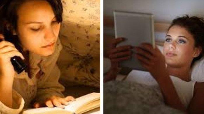 Penelitian Baca Buku Online vs Cetak Sebelum Tidur, Hasilnya Mengejutkan Kesehatan Terganggu Jika. .