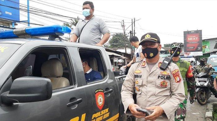 Peduli Protokol Kesehatan, TNI dan Polri Bagikan Ratusan Masker di Bojonggede