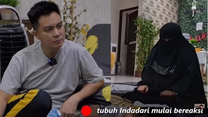Baim Wong Merinding Lihat Mantan Caisar YKS Diruqyah, Indadari Teriaki Suami Paula : Aku Anak Dajjal