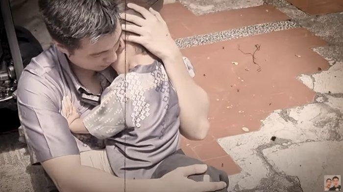 Paniknya Paula Suami Jatuh Sambil Gendong Kiano, Baim Wong Nahan Sakit : Lemes