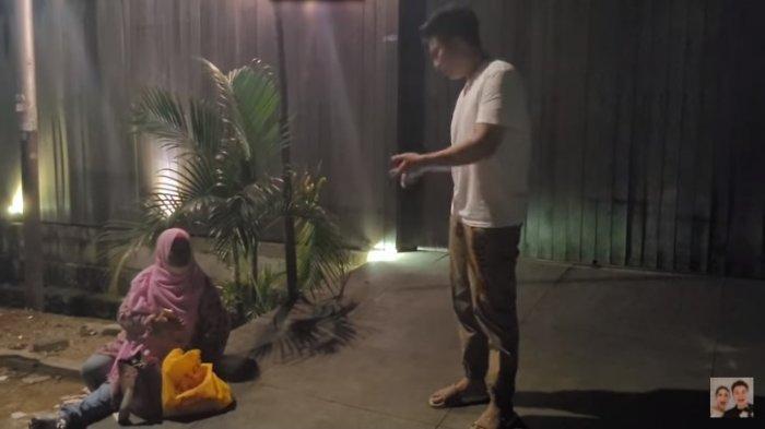 Ibu dari Kendari Ngotot Nginap di Rumah Baim Wong, Ternyata Minta Ini di Belakang Kamera : Ampun