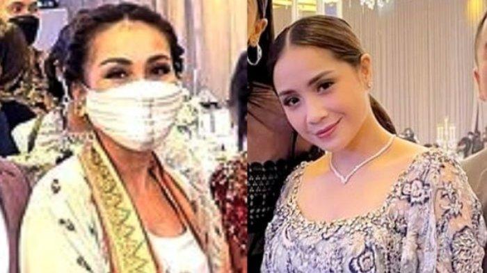 Baju Ayu Ting ting di nikahan Atta Aurel, banyak yang bilang sama dengan Nagita Slavina dan Paula Verhoeven