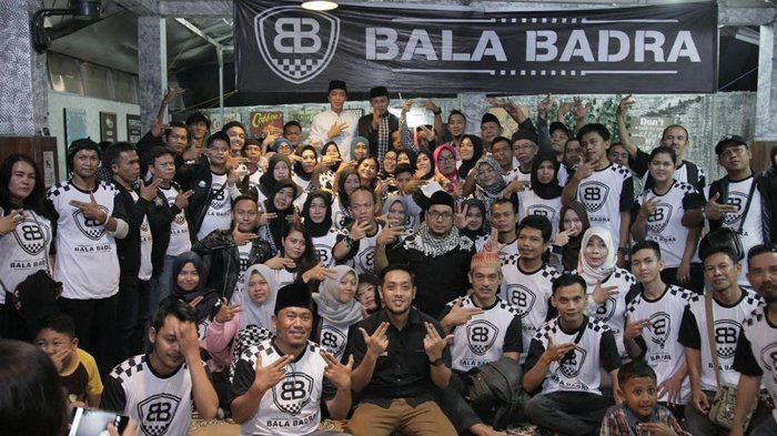Relawan Bala Badra Rapatkan Barisan, Bima-Dedie Ingatkan Kampanye Santun