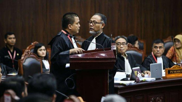 Dibantah TKN, MK Tolak Dalil Tim Prabowo Soal Kehilangan 2,871 Suara dalam Sehari