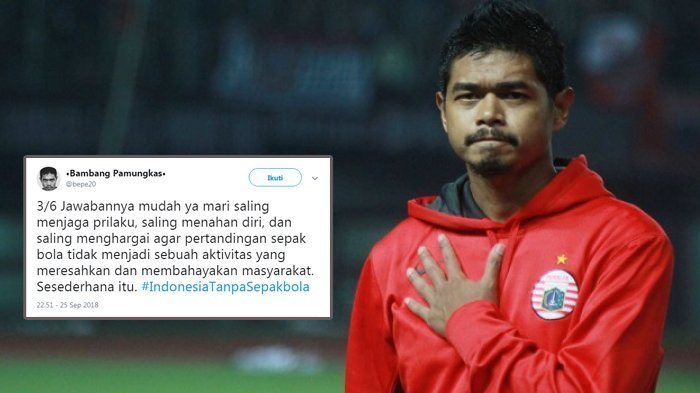 Setuju Jika Liga Sepakbola di Indonesia Dibekukan, Bepe: Hukuman Diberikan Karena Tak Ada Perbaikan