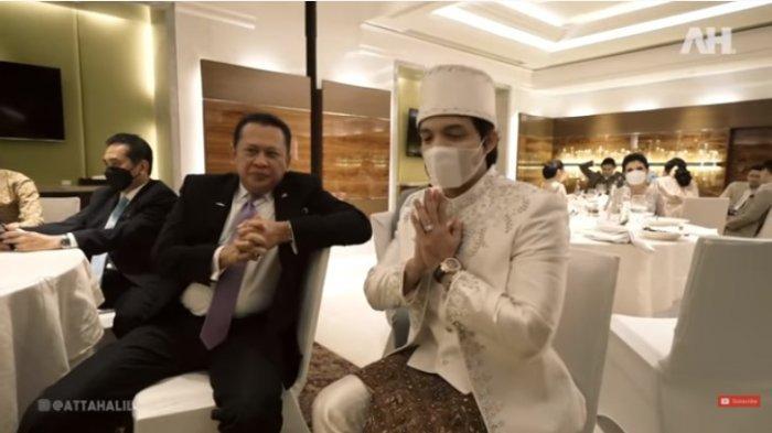 Posisinya Digantikan Jokowi di Pernikahan Atta Aurel, Bamsoet Maklum : Kita Utamakan Presiden