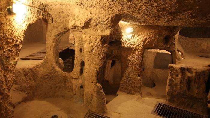 Ada Sejak Abad ke-7, Kota Bawah Tanah di Turki Ini Terdiri dari 20 Lantai