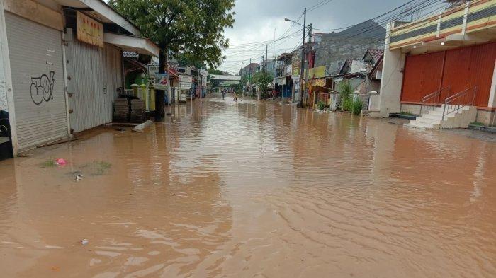 Bojongkulur Gunungputri Bogor Banjir, Puluhan Rumah di Vila Nusa Indah Terendam
