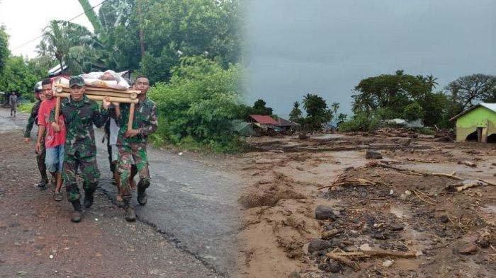 UPDATE Banjir Bandang Flores - Ada 11 Wilayah Terdampak, 68 Orang Meninggal Serta 70 Orang Hilang