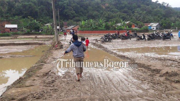 Diterjang Banjir Bandang, Ribuan Warga di Cigudeg Bogor Terisolir, Begini Kondisinya
