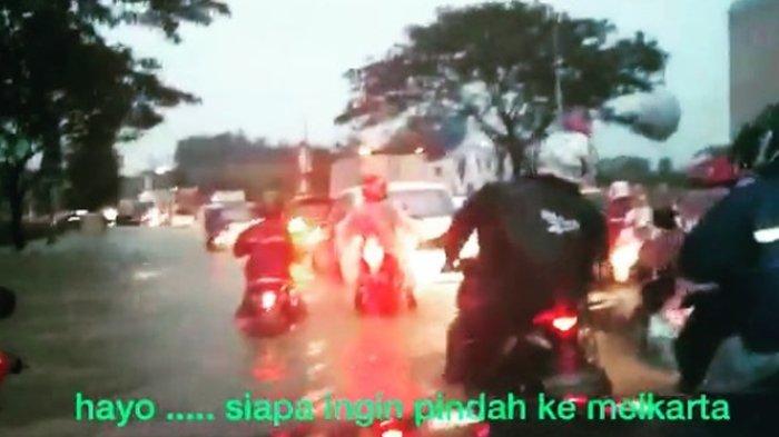 Tak Menyangka Meikarta Banjir, Begini Reaksi Kocak Warganet di Video Banjir Postingan Suryo Prabowo