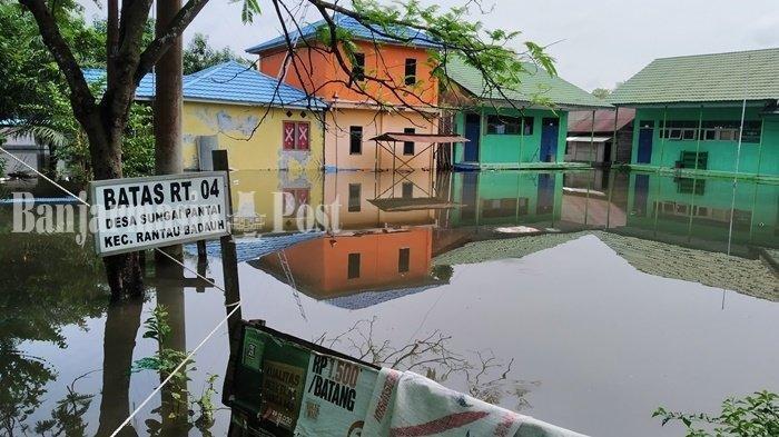 Cerita Warga di Kalsel Tidak Mengungsi saat Banjir, Khawatir Ada Pencuri saat Rumah Kosong