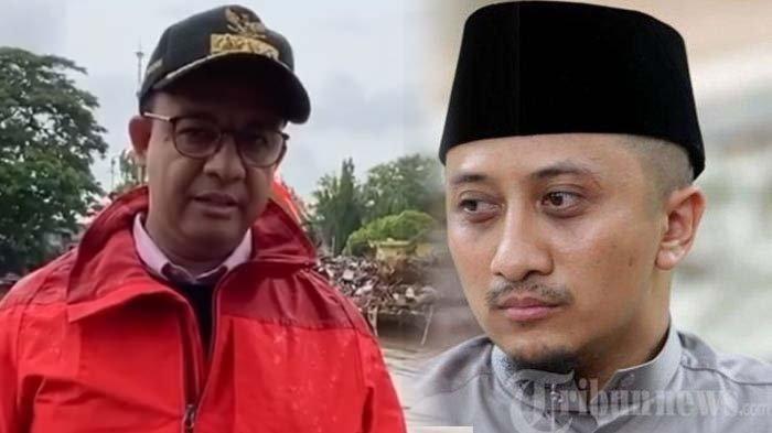 Pajang Foto Bareng Gubernur Anies Baswedan, Ustaz Yusuf Mansur: Kite Fatihahin Teroooossssss
