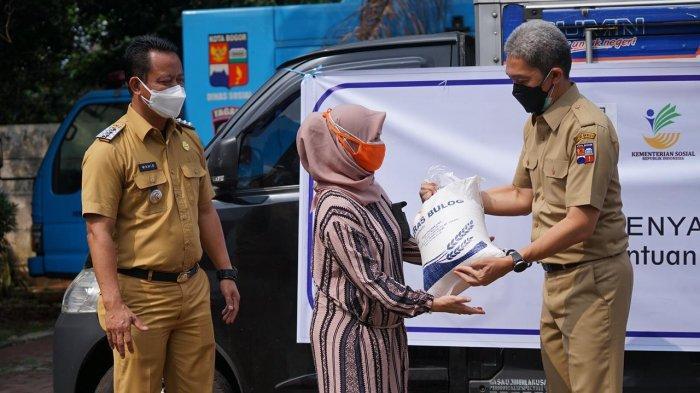 Kota Bogor Dapat Bantuan 115.000 Paket Beras dari Bulog