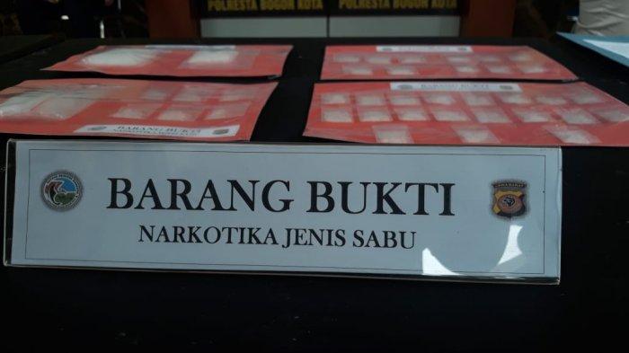 BREAKING NEWS - Polresta Bogor Kota Ungkap Kasus Sabu dan Tembakau Sintetis