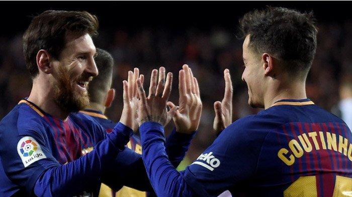 Hasil Lengkap Liga Spanyol Pekan ke-24  - Barcelona Terus Dipepet Valencia