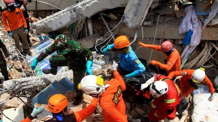 Update Korban Bencana di Sulteng, BNPB: 1.649 Orang Meninggal Dunia