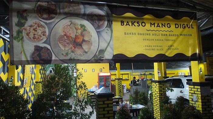 Nikmatnya Bakso Mang Digul Kota Bogor, Ada Beragam Pilihan Topping Harganya Terjangkau