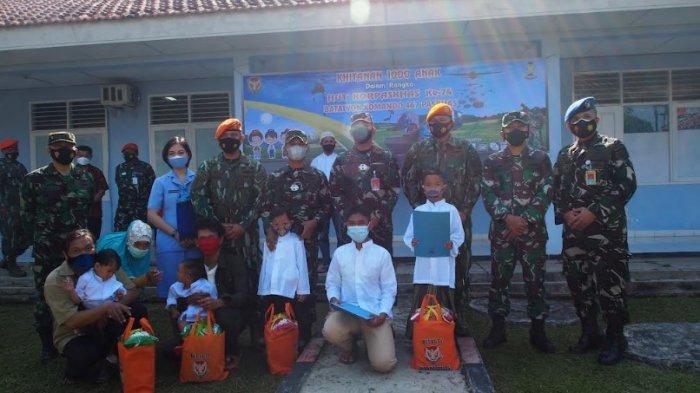 HUT ke-74, Batalyon Komando 467 Paskhas Gelar Khitanan Massal untuk Warga Kurang Mampu