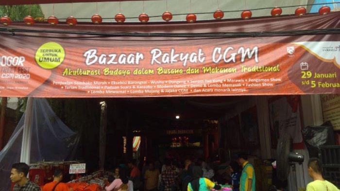 Warga Serbu Bazaar Rakyat Bogor Street Festival, Datang Sejak Pagi Demi Nonton Atraksi Barongsai