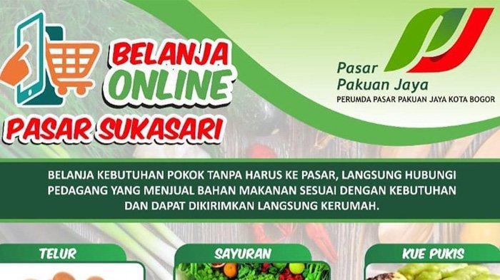 Warga Bogor Bisa Belanja di Pasar Tradisional Via Online, Catat Nomor WA Pedagang di 5 Pasar Ini