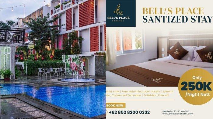 Rekomendasi Hotel Murah di Bogor, Bells Place Sentul Tawarkan Promo Menginap Cuma Rp 250 Ribu!
