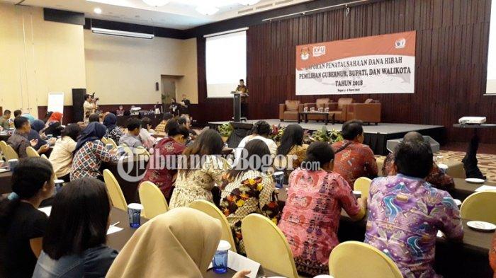 Jelang Pilkada 2018, Bendara KPU se-Indonesia Belajar Nyusun Anggaran