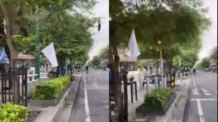 Berikut fakta-fakta aksi PKL Malioboro kibarkan bendera putih yang viral, simbol menyerah terhadap situasi hingga ditertibkan satpol PP