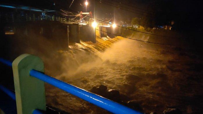 Bogor Diguyur Hujan, TMA Bendung Katulampa Malam Ini Naik Siaga 4