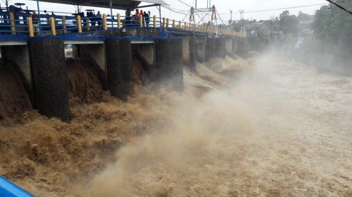 UPDATE Tinggi Muka Air Bendung Katulampa Pukul 14.45 WIB, Warga Jakarta Tetap Waspada