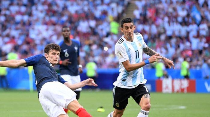 Video Gol Indah Benjamin Pavard, Tendang Lionel Messi cs dari Piala Dunia 2018