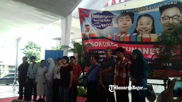 Tumbuhkan Minat Baca, Kota Bogor Terima Tantangan Berbagi Buku Untuk Tuna Netra