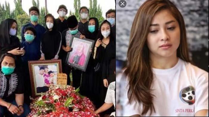 Berduka, Nikita Willy Menangis di Kuburan, Indra Priawan Batalkan Bulan Madu: Hari yang Menyedihkan