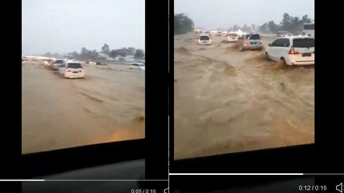Titik Banjir di Sejumlah Ruas Tol Jadebotabek