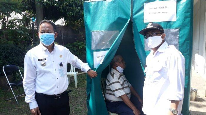 Bilik Sauna Rempah-rempah Buatan Kelurahan Menteng Bisa Segarkan Badan