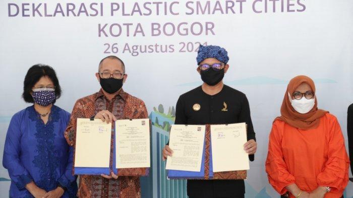 Terinspirasi Banjarmasin, Bima Arya Deklarasi Program Pengurangan Sampah Plastik di Kota Bogor