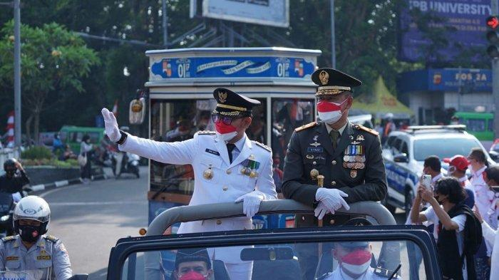 Pimpin Upacara HUT RI, Bima Arya Tegaskan Pandemi Covid-19 Jadi Musuh Bersama : Harus Optimis !