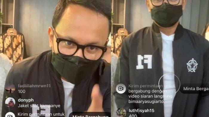 Wali Kota Bogor Bima Arya melelang puluhan barang pribadinya kepada publik, Minggu (15/8/2021).
