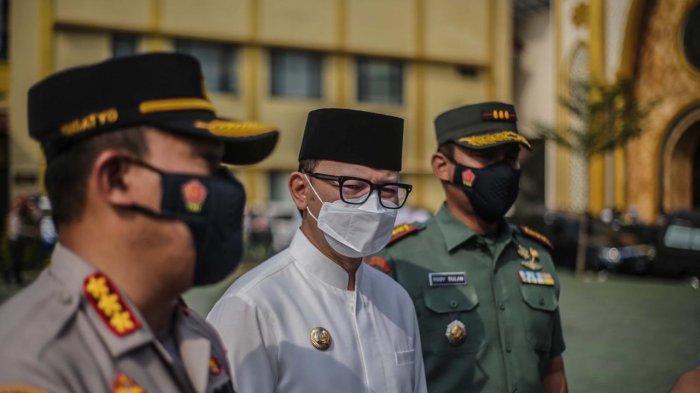 Persiapan Pengamanan Lebaran, Bima Arya Pimpin Apel Gelar Pasukan Operasi Ketupat Lodaya 2021