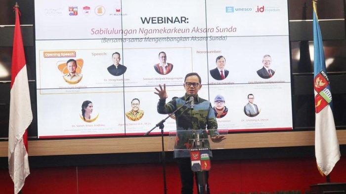 Dukung Aksara Sunda Go Digital, Wali Kota Bogor Bima Arya : Ini Ikhtiar Besar Kita