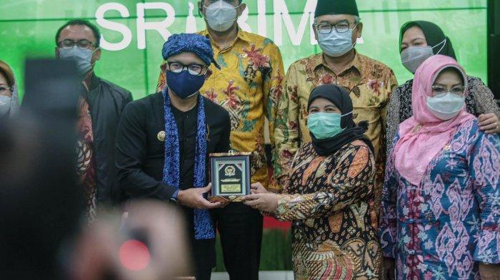 Wali Kota Bogor, Bima Arya menerima kunjungan spesifik Anggota Komisi VIII DPR RI di Paseban Sri Bima, Balai Kota Bogor, Rabu (3/2/2021).