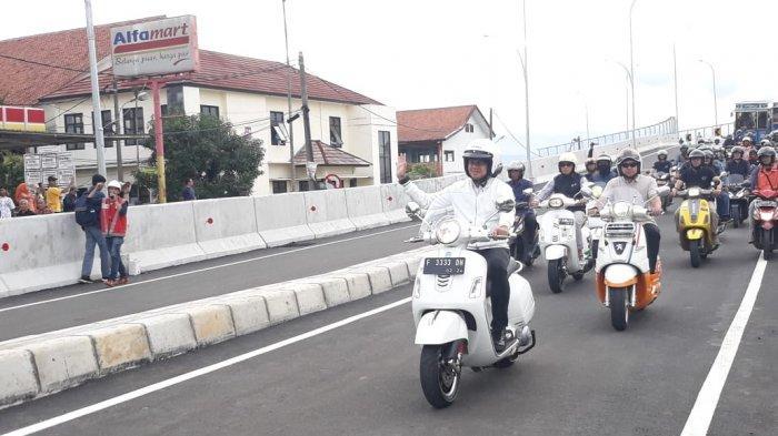 BREAKING NEWS - Kendarai Motor Vespa, Bima Arya Jajal Flyover RE Martadinata