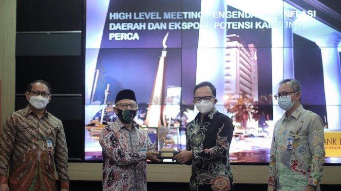 Pimpin Rapat Kerja Sama Kampung Perca, Bima Arya Berharap BI Bantu Monev Kegiatan di Kota Bogor