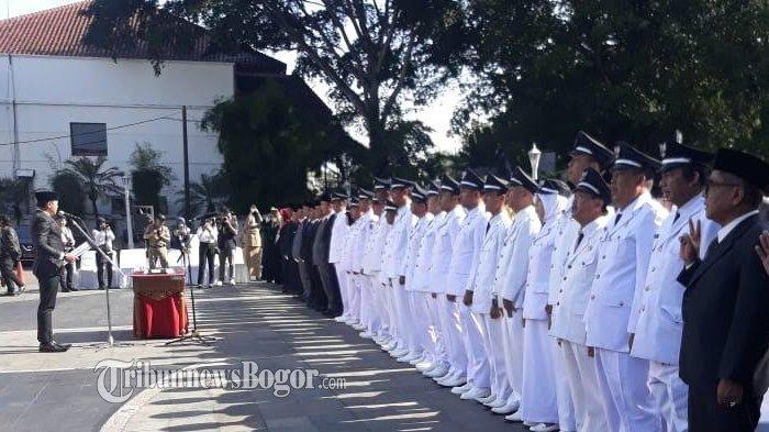 Ini Daftar Nama Pejabat Baru di Kota Bogor yang Dilantik Jelang Pergantian Tahun 2020