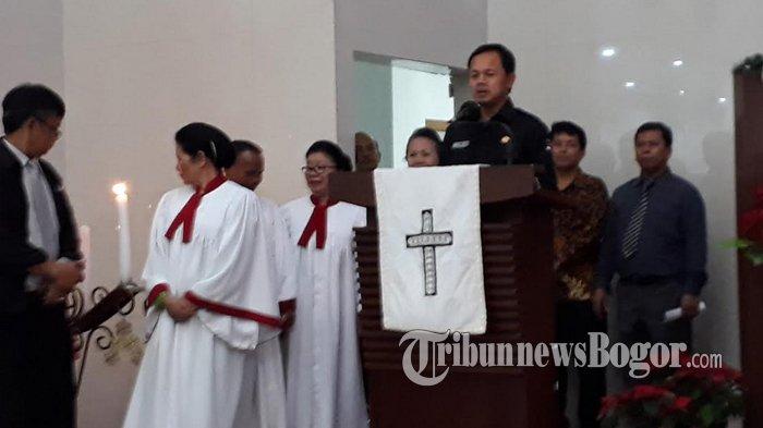 Sambangi Gereja di Kota Bogor, Bima Arya Ucapkan Selamat Hari Natal
