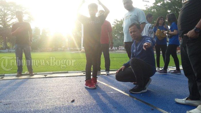 Revitalisasi Jogging Track di Lapangan Sempur Sudah 90 Persen, Awal November Sudah Bisa Digunakan