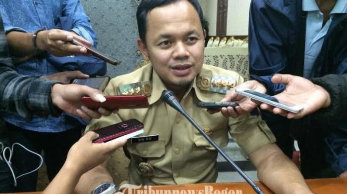 Wali Kota Bima Arya Hari Ini Pimpin Kegiatan Pengukuhan Paskibraka Kota Bogor Tahun 2016