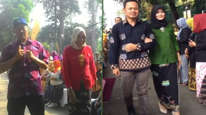 Selain Bima Arya, Sopir Angkot dan Supeltas di Bogor Ini Juga Jadi Model Dadakan Batik Angkot